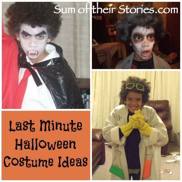 Last minute halloween costume ideas for kids