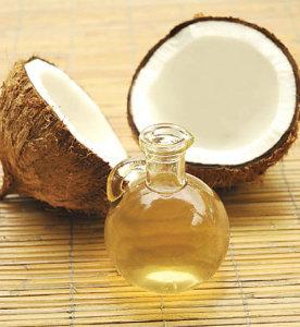 Chữa tóc bạc sớm bằng dầu dừa