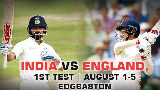 England 1000th test match against India