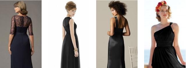 Vestidos de baile pretos