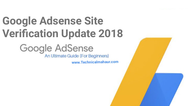 Google Adsense Site Verification Update Oct 2018 For New Adsense Account | How To Add Multiple Website In Google Adsense 2018