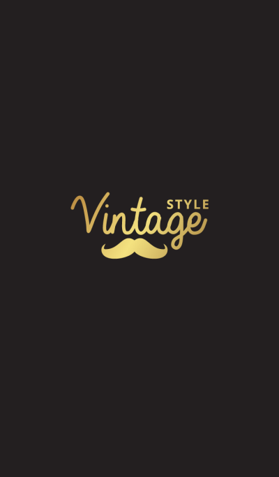 vintage style and hipster GOLD