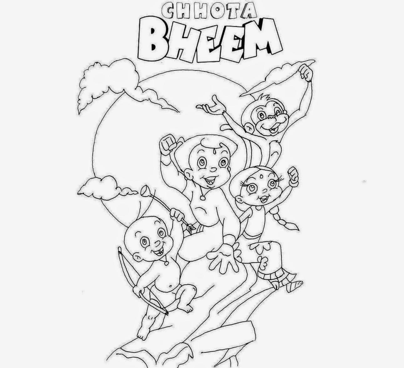 Colour Drawing Free HD Wallpapers: Disney Pogo Cartoon