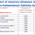 Enhancement of monetary allowance attached to the Pre-Independence Gallantry Awards