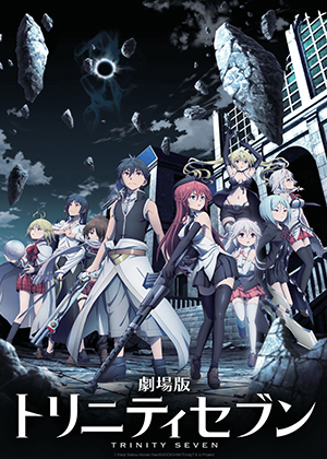 Trinity Seven Movie: Eternity Library to Alchemic Girl [Película] [HD] [MEGA]