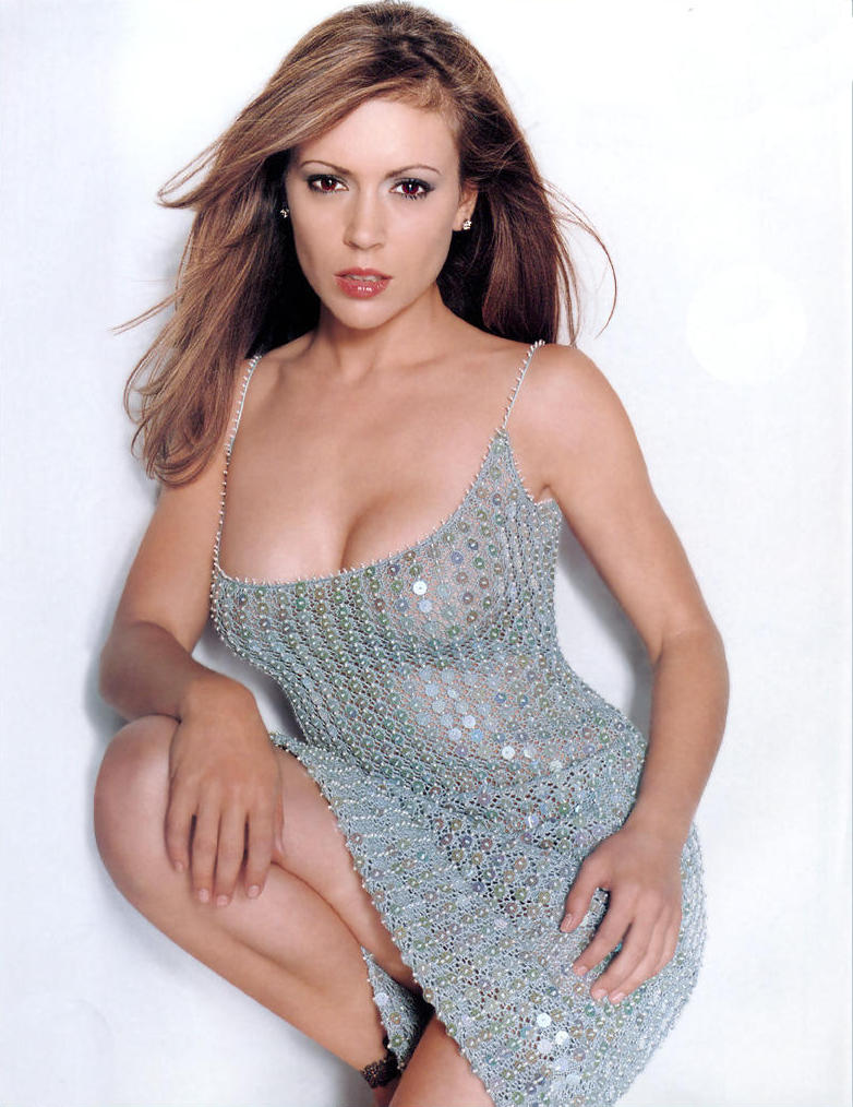A View from the Beach: Rule 5 Saturday - Alyssa Milano