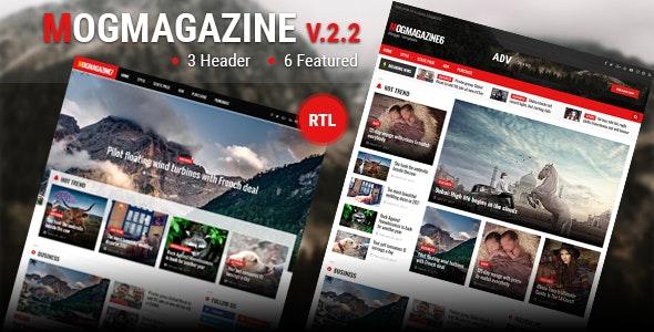 MogMagazine v2.2 Premium Blogger Template