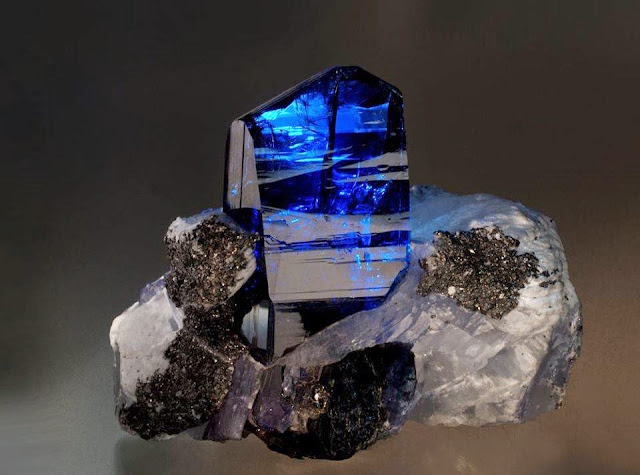 ve always seen equally rich a bluish inwards a zoisite equally this  Stunning Tanzania Crystal