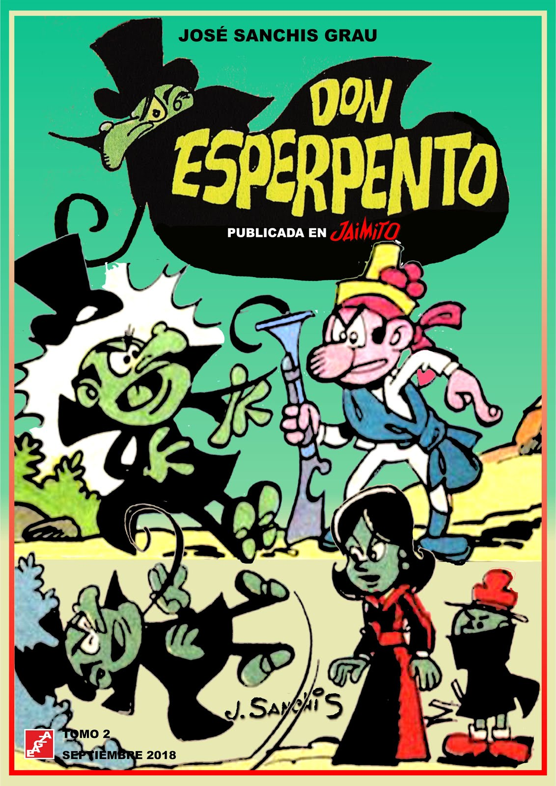 Don Esperpento - 2 Tomos - José Sanchis - EAGZA