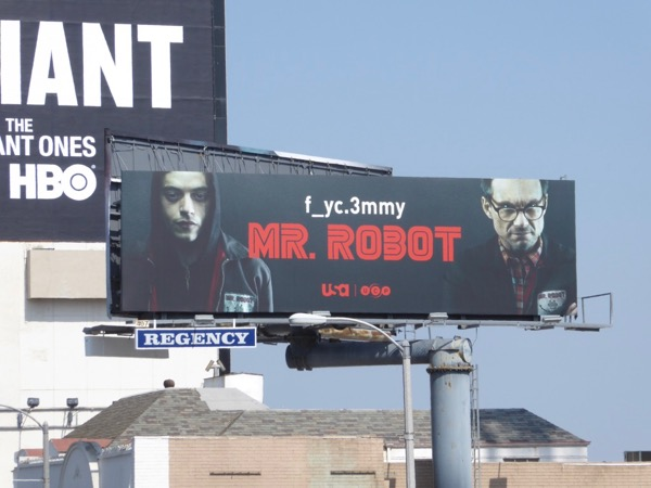 Mr Robot 2017 Emmy FYC billboard
