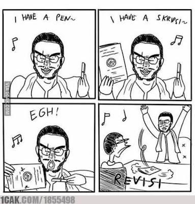 21 Meme Kocak 'PPAP (Pen Pineapple Apple Pen)', Bacanya Sambil Nyanyi