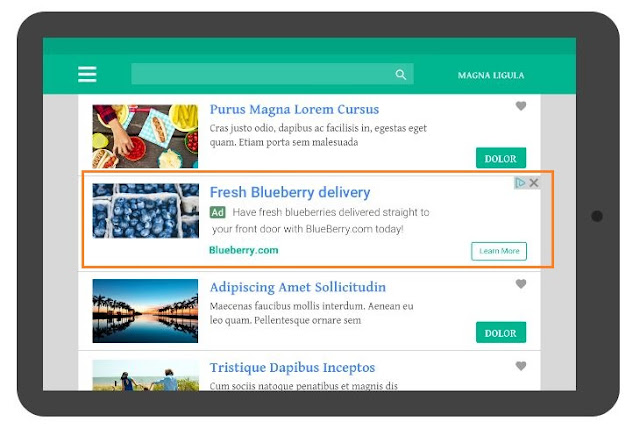 Google AdSense lance les annonces natives In-Feed et et In-Article