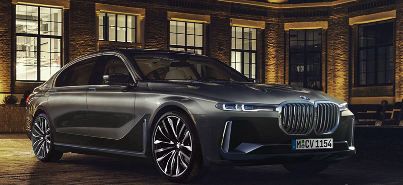 2022 BMW 7 Series Concept Styling