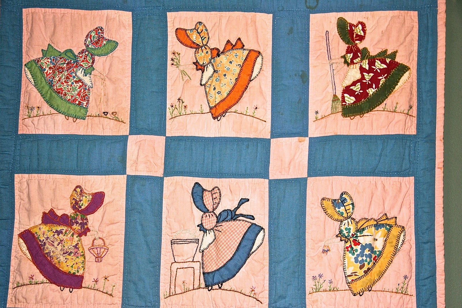 Sunbonnet Sue Quilt Patterns Vintage Quilt