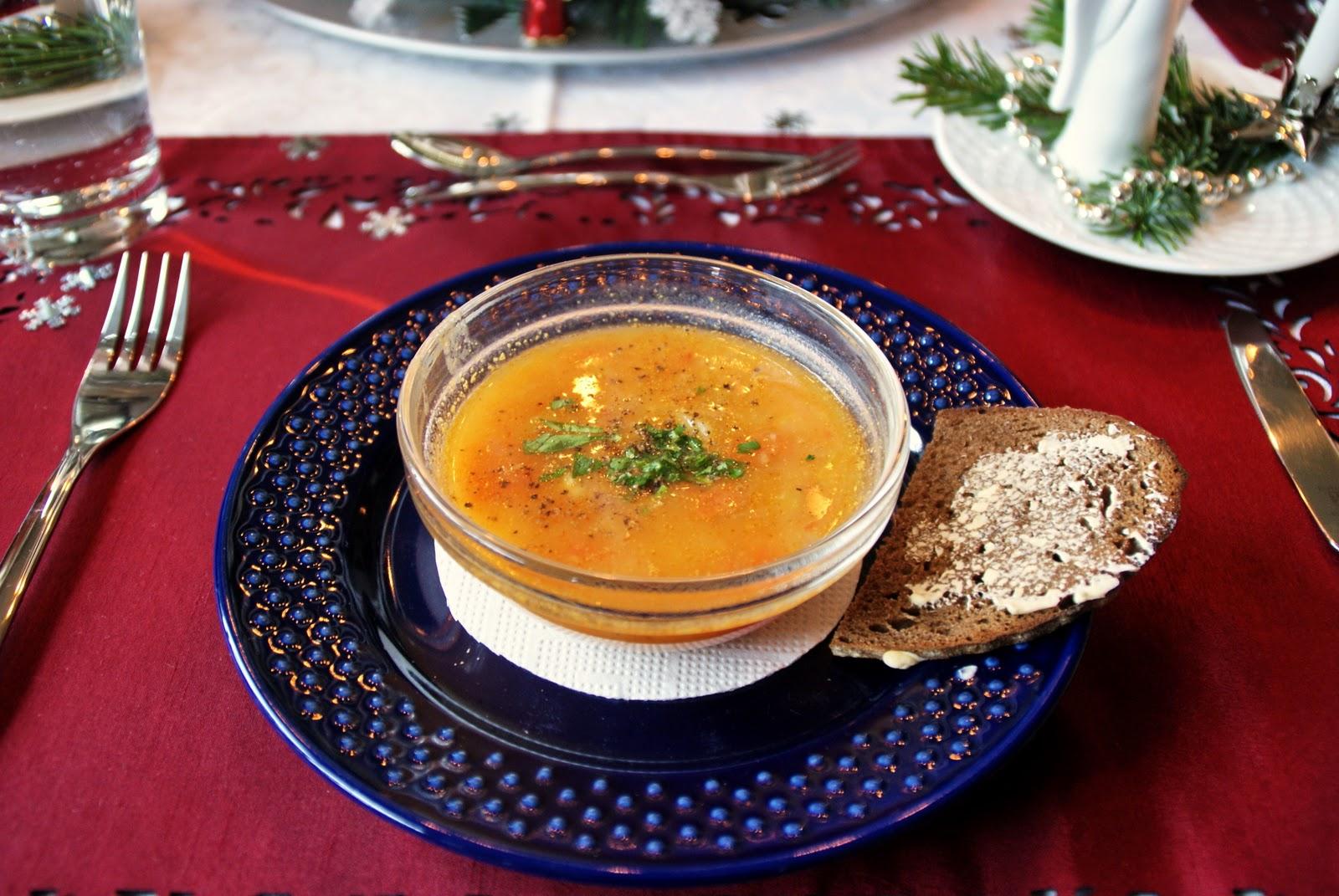 weihnachten suppe vorspeise