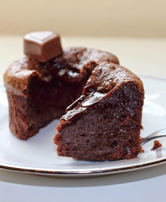 Lava Cake Using Cake Mix