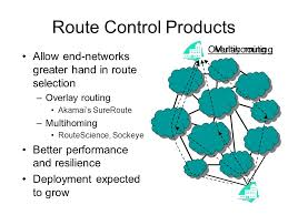 Multihoming Route Control