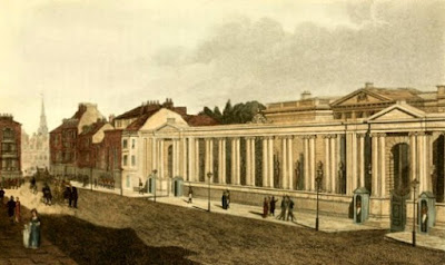 Carlton House from Pall Mall from Ackermann's Repository (1809)
