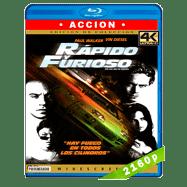 Rápido y furioso (2001) 4K UHD Audio Dual Latino-Ingles