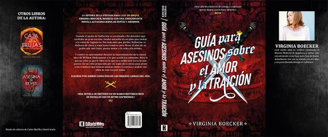 Resultado de imagen de reseña libro guia para asesinos sobre el amor y la traicion