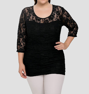 black lace, plus size, 3X, 4X, fashion, BBW