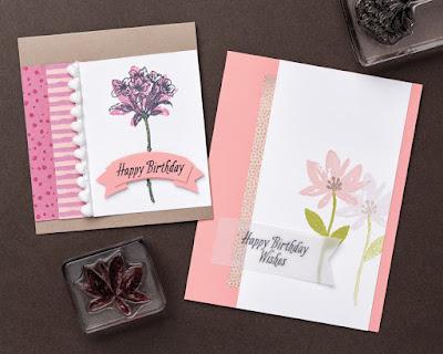 3 Avant Garden Card Ideas for Stampin' Up! Sale-a-Bration #stampinup www.juliedavison.com
