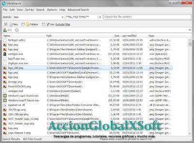 Encuentra archivos en tu disco duro mucho más rápido