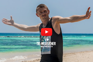 Musikvideodreh Weltreisesong Auf Wiedersehen! auf den Malediven von Bremerhavener Rapper und Musiker Arkadij