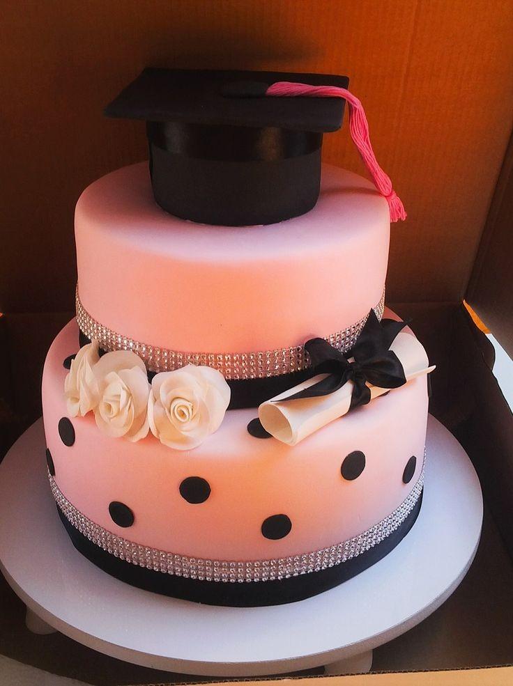 Simple & Best graduation cake ideas for 2017 | fashenista