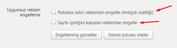 Yandex Browser Uygunsuz Reklam Engelleme Nasıl Yapılır?