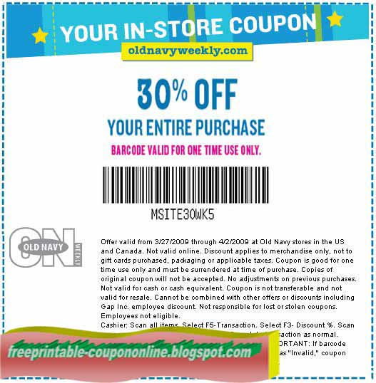 Gap coupon code 2019