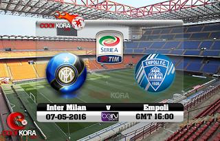 مشاهدة مباراة إمبولي وانتر ميلان بث مباشر بتاريخ 29-12-2018 الدوري الايطالي
