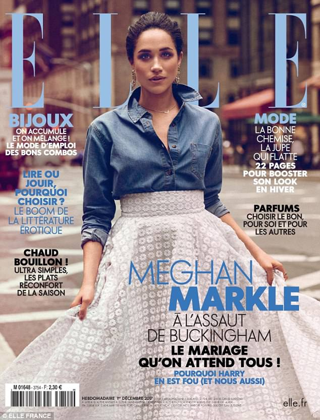 Meghan-Markle-covers-ELLE-France