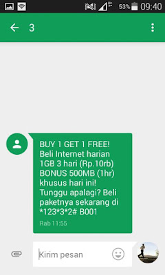 Paket Internet 3 Murah 1GB Hanya 10 Ribu Terbaru 2016