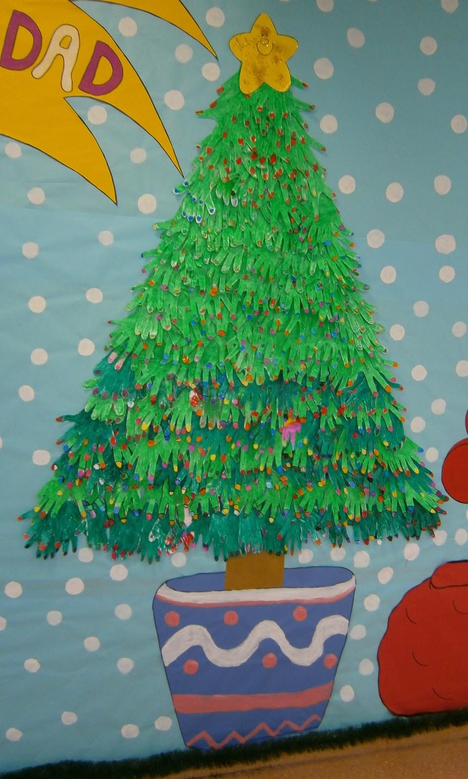 La clase de miren mis experiencias en el aula decoraci n de navidad - Como decorar un salon en navidad ...