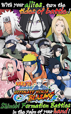 Ultimate Ninja Blazing v1.1.0 Mod Apk Terbaru High Damage + HP 2016
