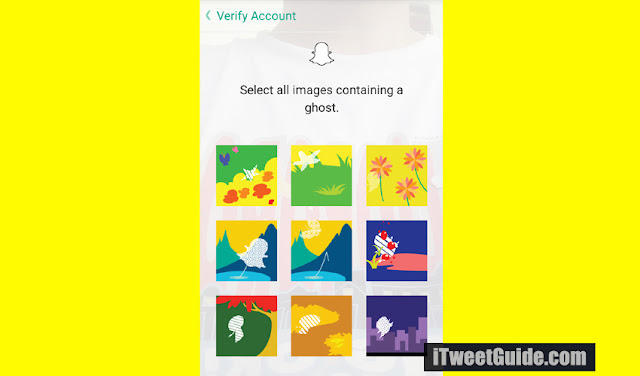 Verification Snapchat Ghost - I Tweet Guide