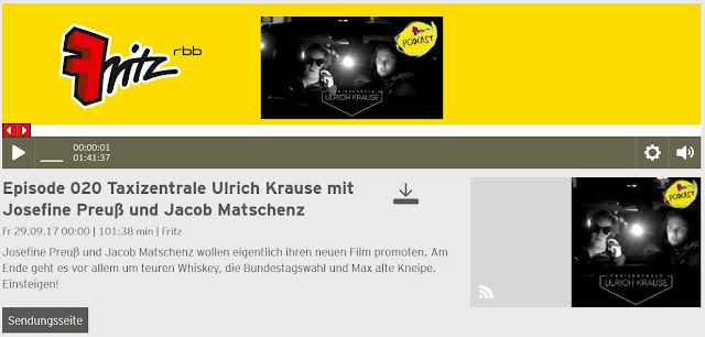 http://mediathek.rbb-online.de/radio/Taxizentrale-Ulrich-Krause-Radio-Fritz/Episode-020-Taxizentrale-Ulrich-Krause-m/Fritz/Audio-Podcast?bcastId=42596920&documentId=46413206