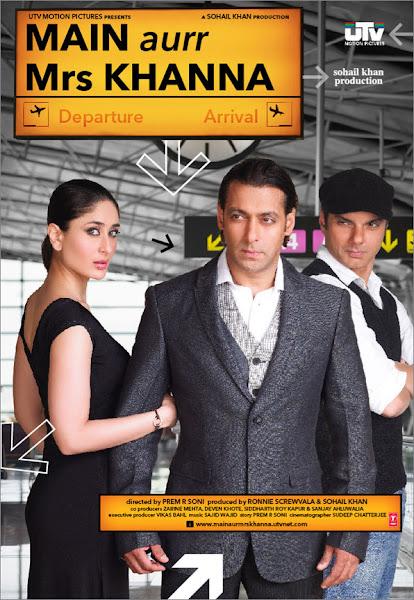 Poster of Main Aurr Mrs Khanna 2009 Full Hindi Movie 720p HDRip x264 Download