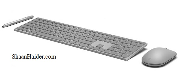 Microsoft launches Modern Keyboard and Modern Mouse with Fingerprint Sensor