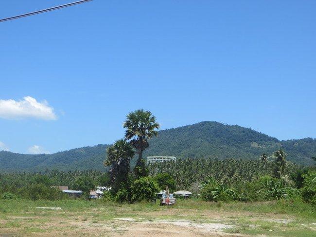 Гора остров Самуи
