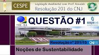 Resolução 201/2015 CNJ - Questão #1