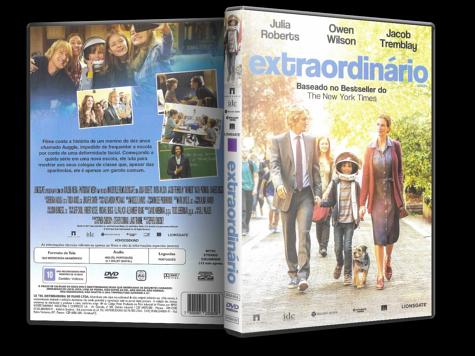 Capa DVD Extraordinário