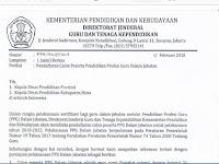 Buruan Daftar !! Kemdikbud Buka Pendaftaran Calon Peserta PPG Dalam Jabatan 2018