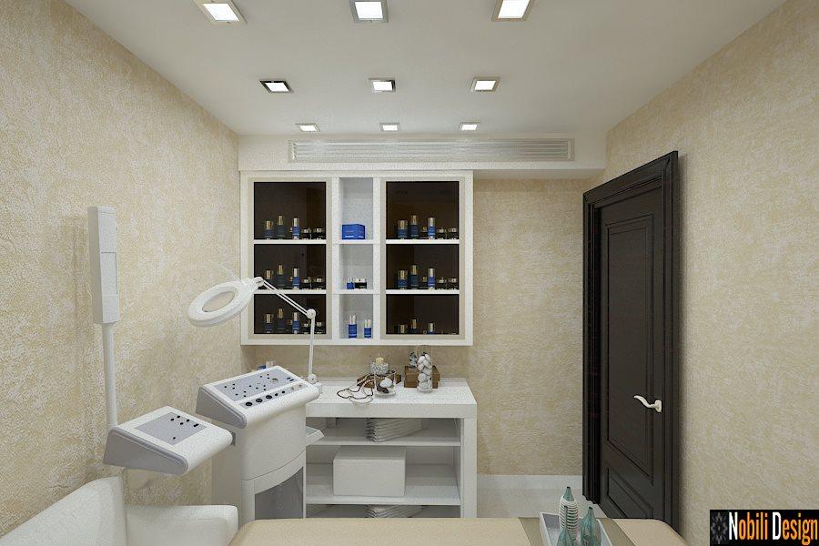 Amenajari Interioare saloane de infrumusetare - Amenajare salon cosmetica Bucuresti