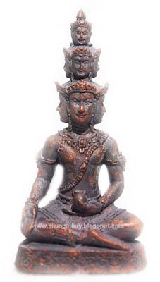 Phra Kao Na - 9 Face Buddha Millionaire Version Amulet