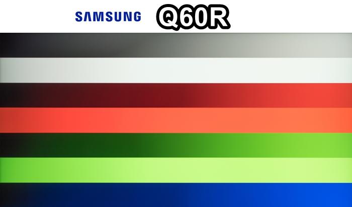 samsung q60r degradado de imagen