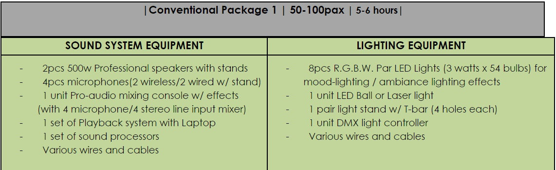 Lights And Sounds Rental Affordable Sound System For Rent
