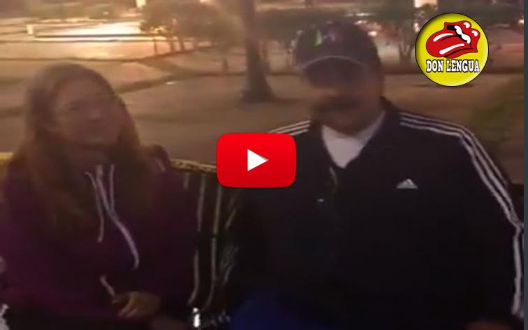 Maduro salió a pasear por Caracas completamente vacía
