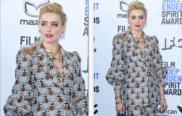Amber Heard - 2020 Film Independent Spirit Awards Santa Monica